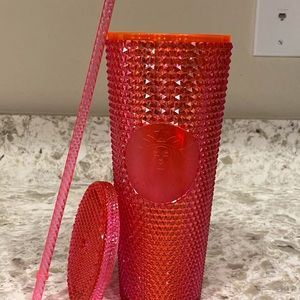 2019 Starbucks Holiday Neon Pink Tumbler